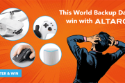World Backup Day with Free Amazon Voucher and Prizes for Everyone!
