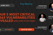 5 Most Critical Microsoft M365 Vulnerabilities Revealed and How to Fix Them - Free Webinar