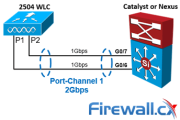 Configuring Cisco WLC Link Aggregation (LAG) with Port-Channel EtherChannel. LAG Restrictions for WLC Models