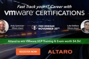 FREE Webinar - Fast Track your IT Career with VMware Certifications