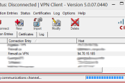 Cisco VPN Client & Windows 8 (32bit & 64bit) - Reason 442: Failed To Enable Virtual Adaptor - How To Fix It