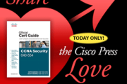 Cisco Press Discounts - Valentine's Day Special - Save 40%!!