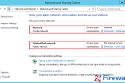 How to Easily Change Network Card Profile / Network Location (Private or Public) on Windows Server 2012 R2