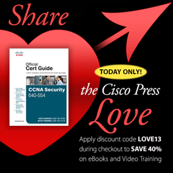 CiscoPress discount offer