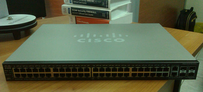 Installation and Setup of Cisco SG500-52P - 500 Series
