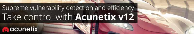Acunetix Banner