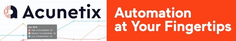 Acunetix Banner