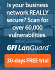 GFI LanGuard Network Security