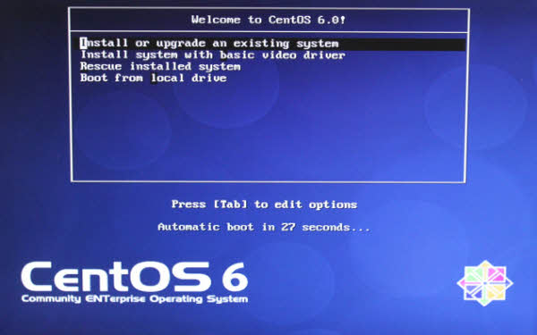 centos 6.0 welcome installation