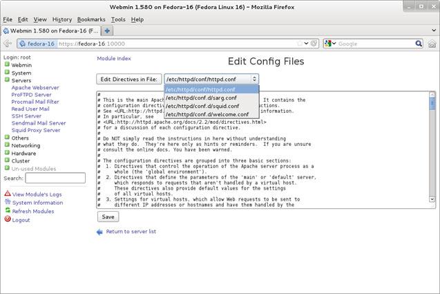 Installing & Configuring Linux Webmin - Linux Web-Based