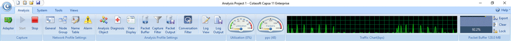 capsa enterprise v11 dashboard v2