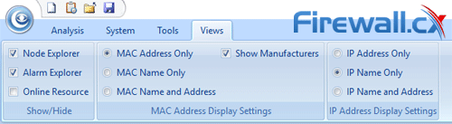 capsa enterprise v11 views tab