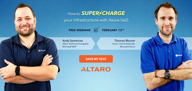 Free IaaS Webinar with Microsoft Azune Engineering Team