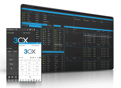 3cx ip pbx client console