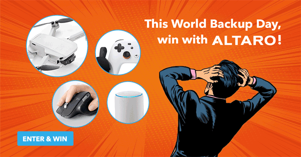 world backup day 2020 - win with altaro