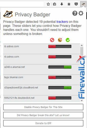 Privacy Badger Help Enforce Anonymous Browsing