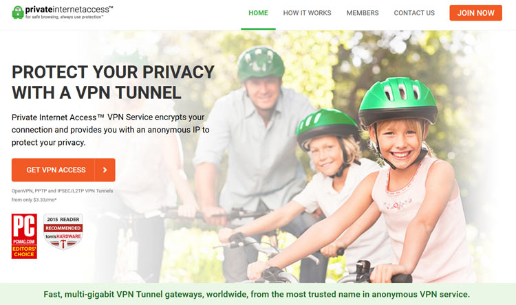 Private Internet Access Best VPN Service