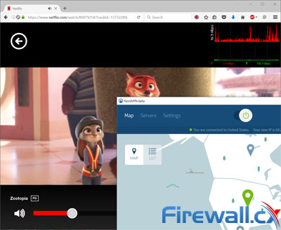 NordVPN Netflix Streaming