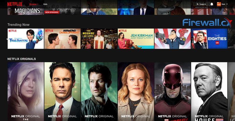netflix us homepage after socks5 configuration