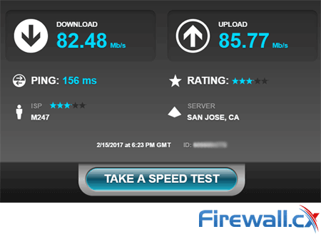 StrongVPN truly impressed us with its superfast download speeds and low latency
