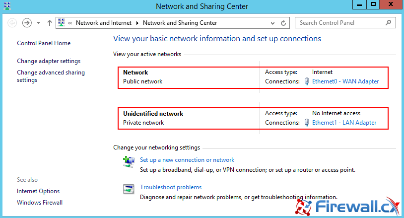 Network interfaces are now bound to the correct network profile